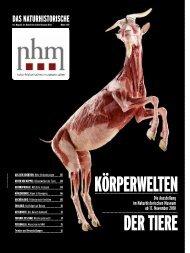 KÖRPERWELTEN DER TIERE - Naturhistorisches Museum Wien
