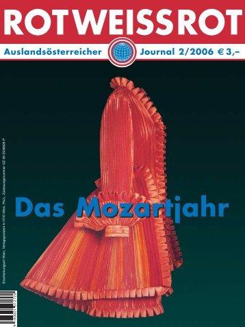 Das Mozartjahr - Auslandsösterreicher-Weltbund