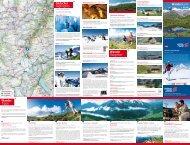 Wanderkarte Gletscher Highlights Wander Ratgeber Wander Tipps