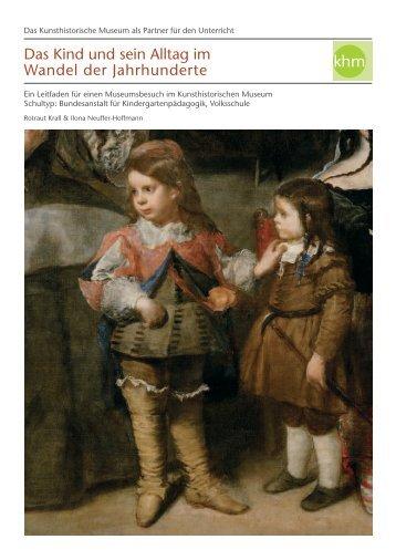 Das Kind und sein Alltag im Wandel der Jahrhunderte