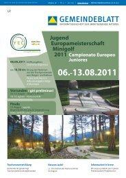 Gemeindeblatt | Juni 2011 (2,20 MB)