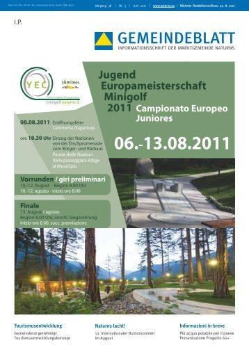 Gemeindeblatt   Juni 2011 (2,20 MB)