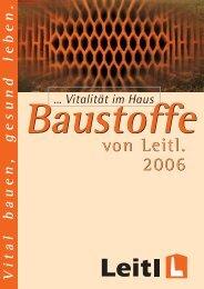 Vital Vinothek® Mit Leitl - Bauhütte Leitl-Werke GmbH