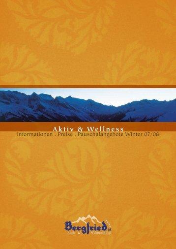 Aktiv & Wellness - Wellnesshotel Bergfried