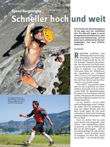 Everest-Erfahrungen: Interview mit Rolf Eberhard - Deutscher ...