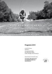 Programm 2010 - Alpe Adria Fischerei