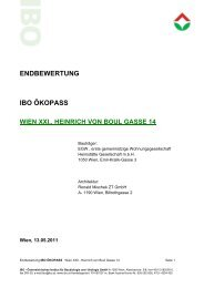 endbewertung ibo ökopass wien xxi., heinrich von boul gasse 14