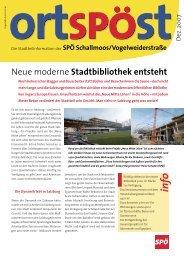 Neue moderne Stadtbibliothek entsteht - SPÖ Salzburg Stadt
