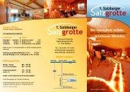 Der Gesundheit zuliebe - Salzburger Salzgrotte