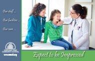 Expect to be Impressed - Margaret Mary Community Hospital