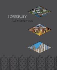 Real Estate Services brochure - Forest City