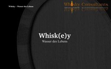 Whisk(e)y - L&P Whisky Consultants OG