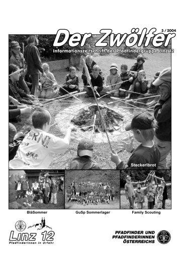 Sommerlager in Gutau - Pfadfindergruppe Linz 12 - Urfahr