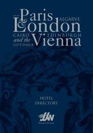 Download the JJW Hotels & Resorts Directory (pdf - Grand Hotel Wien