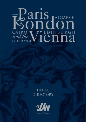 Download the JJW Hotels & Resorts Directory (pdf - Grand Hotel Wien