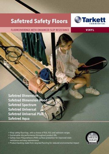 Safetred Safety Floors - Tarkett Professionals for Australia