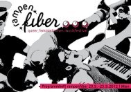 Programmheft rampenfiber 20.9.-23.9.2012 | Wien