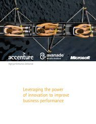 Leveraging the power of innovation to improve business performance