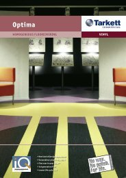 Optima: Homogenous Vinyl Floorcovering - RIBA Product Selector