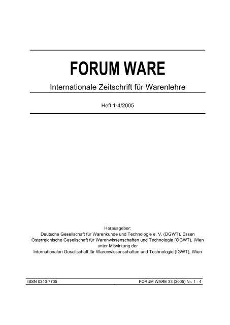 FORUM WARE - DGWT