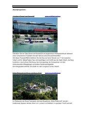 Rahmenprogramm - Congress Center Villach
