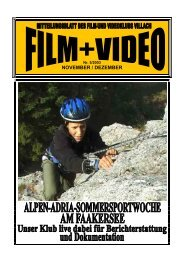 NOVEMBER / DEZEMBER - Film- und Videoklub Villach