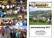 Jahresplanung 2011 - Seniorenbund Steyr Land