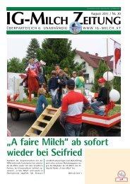 30. Zeitung - IG-Milch