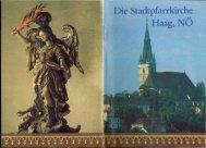 Kirchenführer (4,2 MB pdf) - Geschichtsarchiv von Stadt Haag