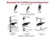 Beispiele für Kühlkörper - HTL Wien 10