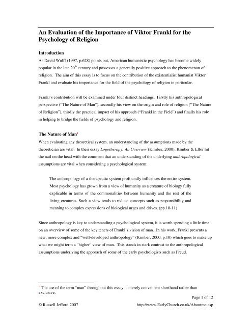 psychology of religion research topics