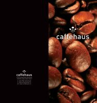 F & H Espresso Betriebs GmbH 1100 Wien, Viktor-Adler ... - Caffehaus