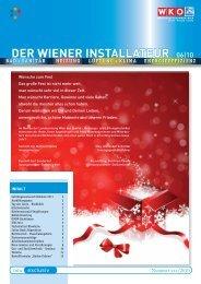 Der Wiener installateur 06|10 - Wiener Installateure