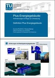 Definition Plus Energiegebäude