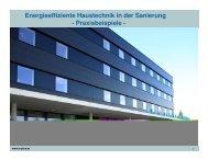Energieeffiziente Haustechnik in der Sanierung ... - bauXund
