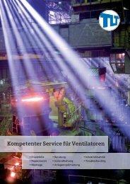 Kompetenter Service für Ventilatoren - TLT-Turbo