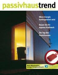 Passivhaus Magazin 2011 - IG Passivhaus Österreich