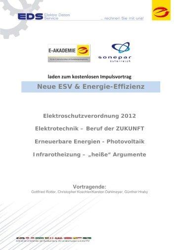 elektroschutzverordnung 2012