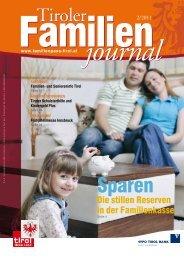 familie - Tirol - Familienpass