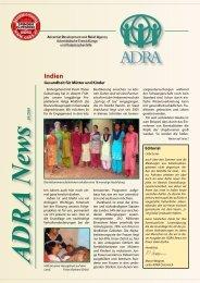 Indien-Kalender 2011 - ADRA Österreich