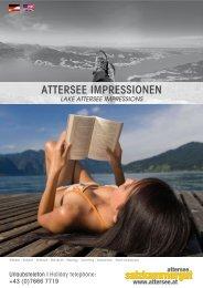 attersee ImpressIonen - Attersee - Salzkammergut
