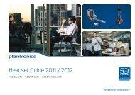 Plantronics Headset Guide 2011-2012 (2).