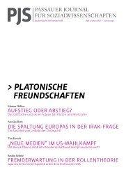 PJS 2/2012 (Mai) – Platonische Freundschaften (Download pdf