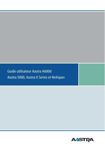 Aastra 5000 Aastra X Series - Atelsys