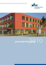 Jahresbericht 2010 - Universitätsklinikum Regensburg