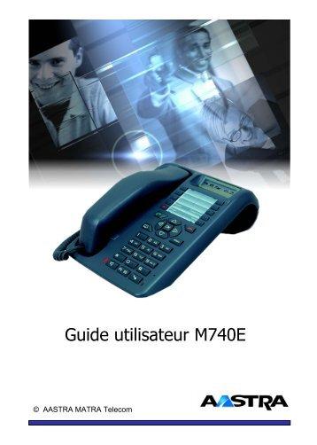Aastra M740 - Atelsys