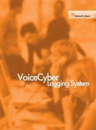 VoiceCyber Logging System Brochure