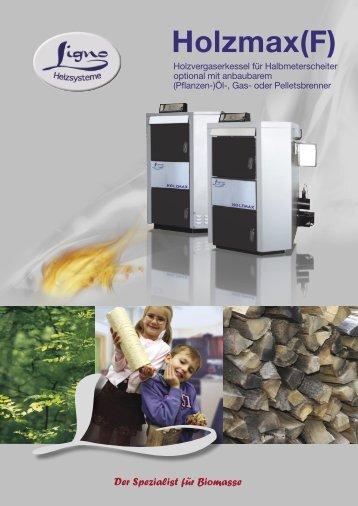 Turbomax Euromax Holzmax(F) - Ligno Heizsysteme