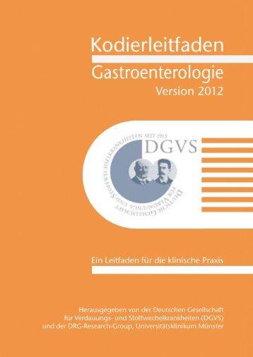 Kodierleitfaden Gastroenterologie - DGVS