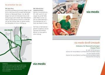 Patienten-Infobroschüre Nierenzentrum Groß - via medis